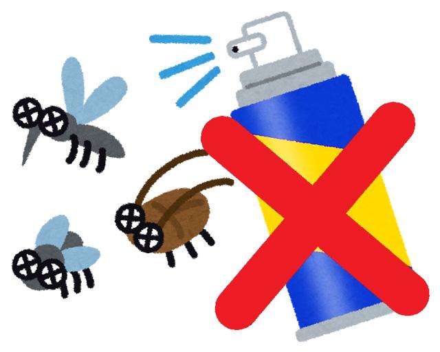 ゴキブリ対策!ペットがいるから殺虫剤が使えない時は?